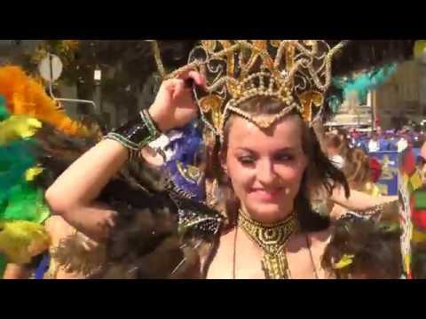 FESTIWAL STREET PARTY - SAMBA - Parada Multikulti - Warszawa 28 sierpnia 2016