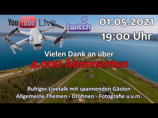 4.000 Abonnenten-Special - Live auf Youtube und Twitch - Ruhiger Livetalk mit Gästen