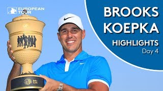 Brooks Koepka's Winning Highlights | 2019 WGC-FedEx St. Jude Invitational