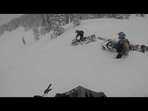 Snowmobiling Trip 2017 to Centennial Wyoming