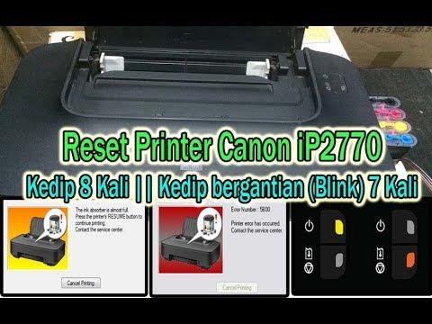 Memperbaiki Printer kedip kedip bergantian CANON IP2770 Hanya 5 Menit #printer #canonip2770 #pixmaip.