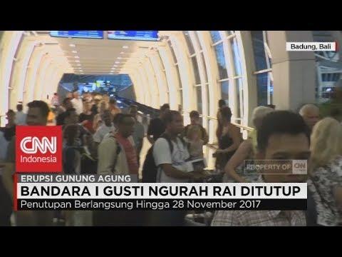Bandara I Gusti Ngurah Rai Ditutup