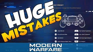 Best Modern Warfare Controller Settings (PS4/Xbox)   CoD MW Beta Video