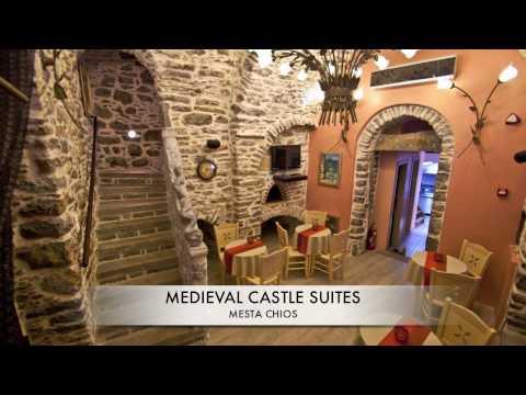 ELLOPIA TV USA Medieval Castle Suites Mesta Chios