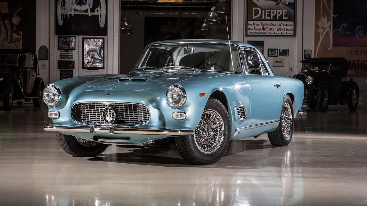 Vintage Cars In Garage Wallpaper Hd 1962 Maserati 3500 Gti Jay Leno S Garage Youtube