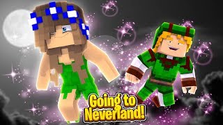 GOING TO NEVERLAND WITH TINKERBELL! (Minecraft Little Carly).