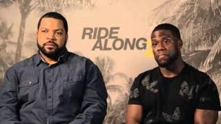 Jono and Ben's hilarious chat to Kevin Hart and Ice Cube about Ride Along 2