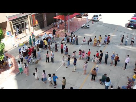 GLOBALink   How people fighting latest resurgence of COVID-19 in east China
