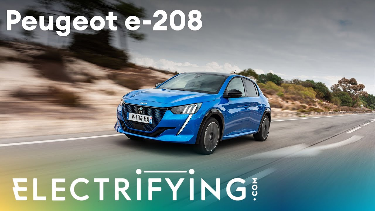 Peugeot e-208 GT 2020: In-depth studio review with Nicki Shields & Tom Ford / Electrifying