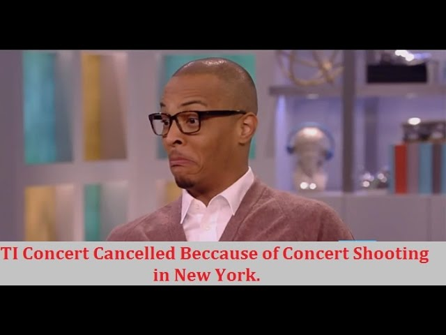 TI Loses out on $55,000 after Shooting at his Concert. Promoter Claims His Events are too Violent.