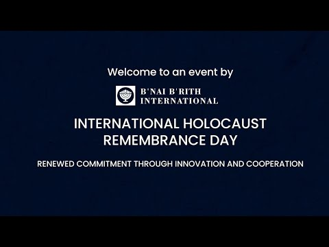 International Holocaust Remembrance Day – Renewed Commitment: Cooperation and Innovation