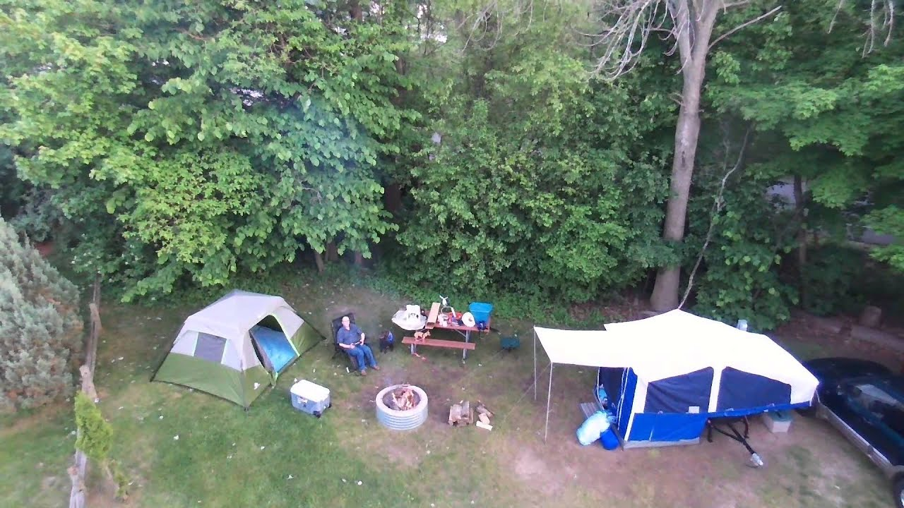 Bebop Drone Holland Mi State Park Camping Overflow Youtube