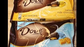 Dove Chocolate Sea Salt Caramel & Caramel Milk Chocolate Review