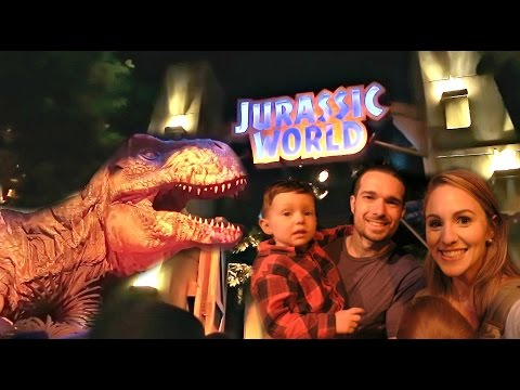 VISITING JURASSIC WORLD!