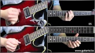 Мумий Тролль - Владивосток 2000 Соло (Уроки игры на гитаре Guitarist.kz)