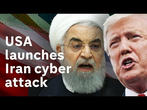 US launches cyber-attack on Iran amid escalating tensions