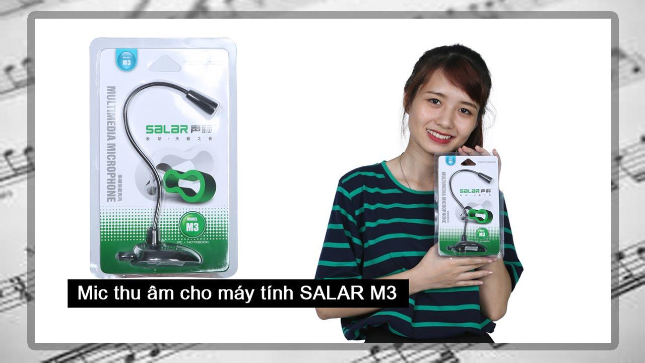 Mic thu âm giá rẻ Salar M3 cho máy tính mua ở đâu