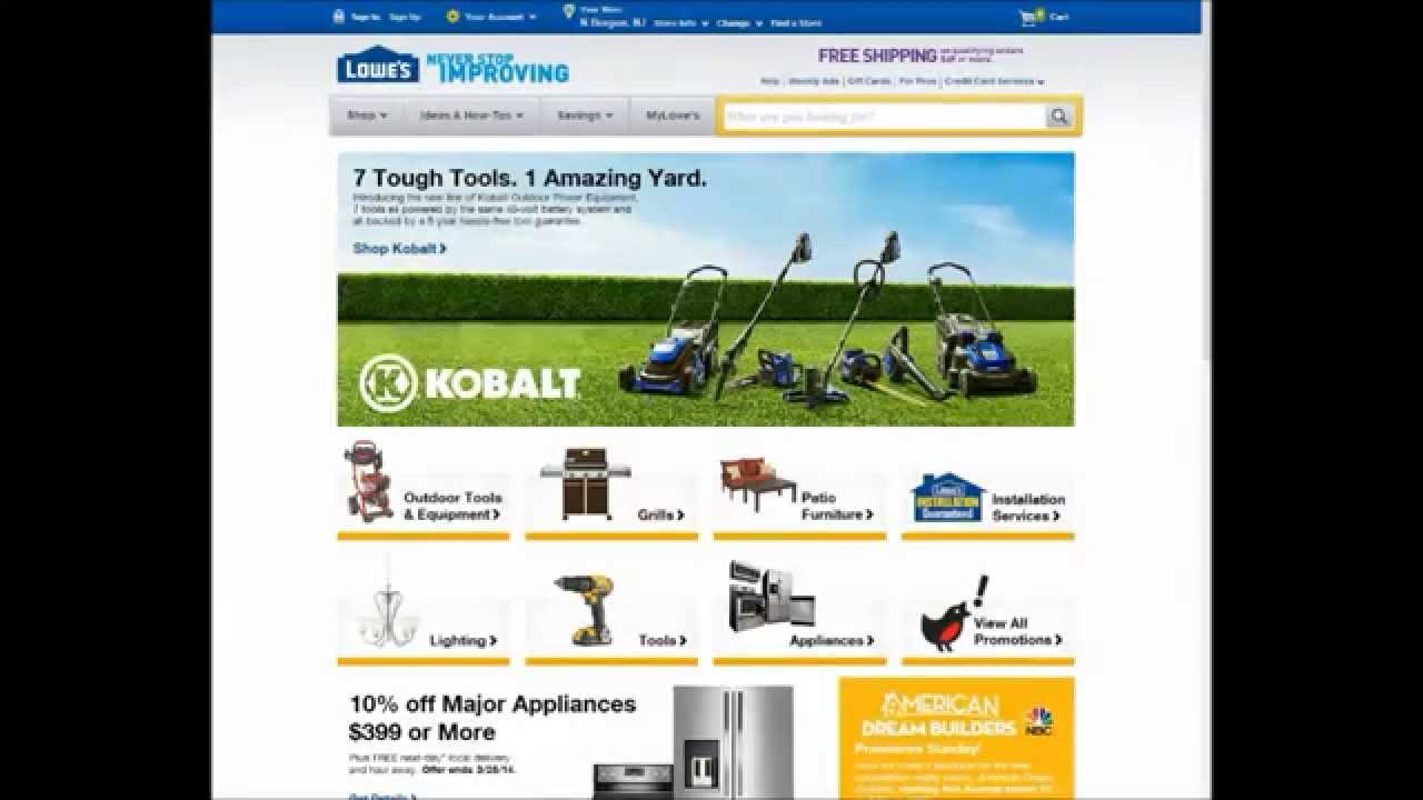 Lowes moving coupon code 2014