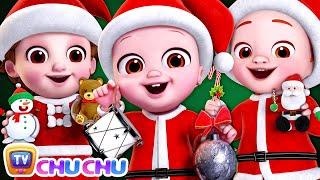 Deck the Halls, Ha Ha Ha Ha Ha! - Christmas Song For Kids - ChuChu TV Baby Nursery Rhymes for Babies