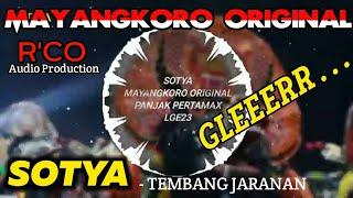 Download lagu SOTYA Cover MAYANGKORO ORIGINAL - Panjak Pertamax LGE 23