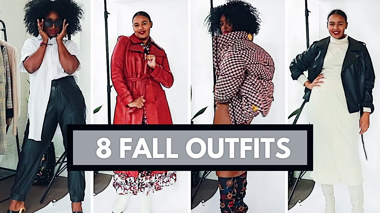 [VIDEO] - 8 FALL OUTFIT IDEAS | STYLISH FALL LOOKS | THE YUSUFS 4