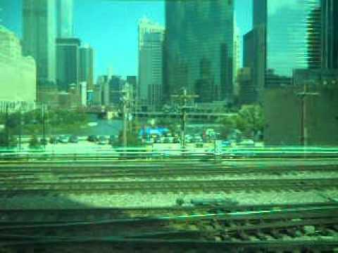 Leaving Ogilvie Transportation Center on Metra Union Pacific-West Line