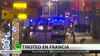 Varios muertos y heridos en un tiroteo cerca de un mercado navideño en Estrasburgo