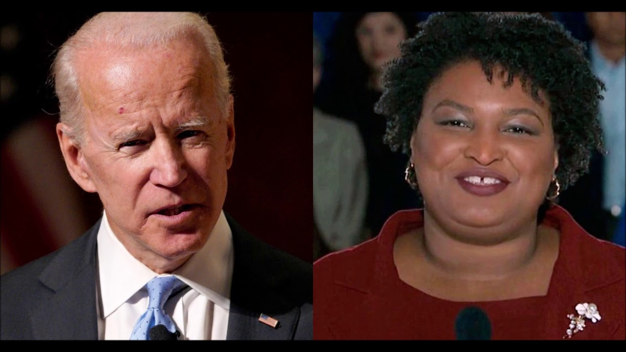Stacey Abrams Meets With Joe Biden On Possible Vice Presidential Run
