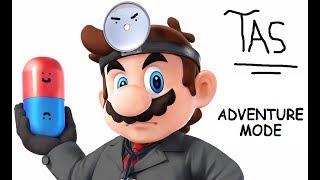 [TAS] SSBM Mod: Crazy Dr. Mario Adventure Mode