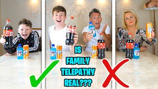 *REAL* FAMILY 4 TELEPATHY TEST