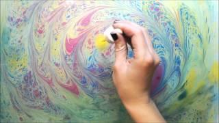 ЭБРУ - рисование на воде.  МЕТАМОРФОЗЫ(Необычный способ рисования - ЭБРУ - рисование на воде. Рисунок с поверхности воды перенесен на лист бумаги...., 2015-11-20T10:00:51.000Z)