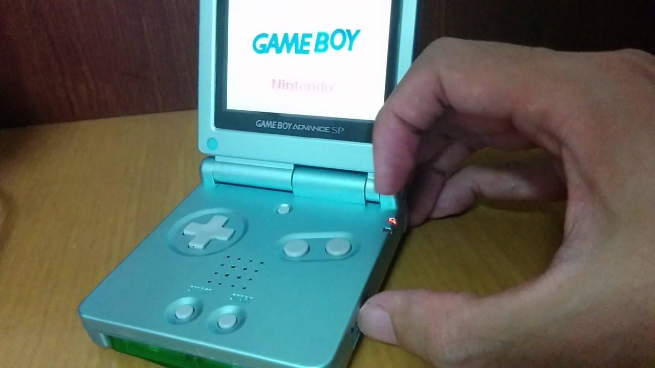 Batterycharger Error Gameboy Advance Sp Youtube