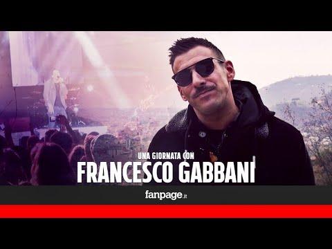 Un giornata con Francesco Gabbani: