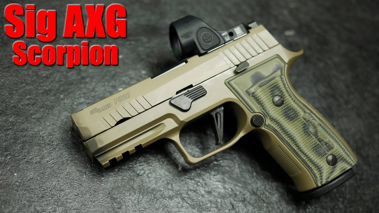 Sig Sauer P320 AXG Scorpion: First Shots & Impressions