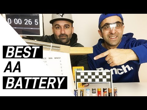 You Won't Believe Which Battery Won!