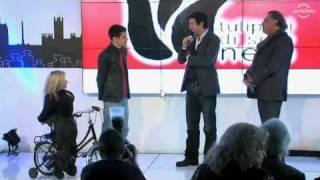 """""""Tulipani di seta nera"""" consegna a Pierfrancesco Favino il premio Eccelenza nel cinema (Roma)"""