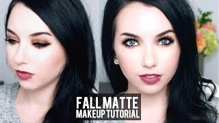 Pale Skin Fall Matte Makeup Tutorial & Candy Club Taste Test!
