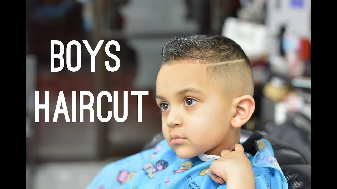 Little Boys Haircut Fading And Haircut Techniques On