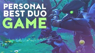 PERSONAL BEST DUO GAME! GUESS WITH WHO? (Fortnite Battle Royale - Dakotaz)