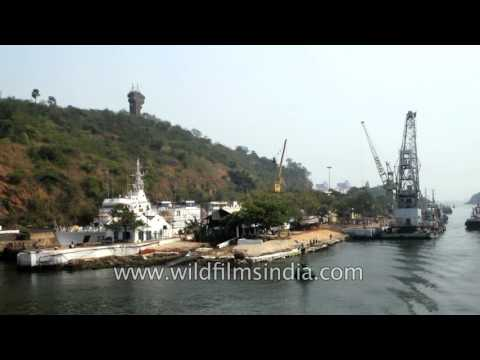 Outer harbour of Visakhapatnam port