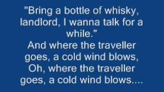 Chris de Burgh - The Traveller(lyrics on screen)