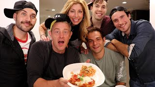 PROFESSIONAL CHEF COOKS THE VLOG SQUAD'S FAVORITE MEAL!!