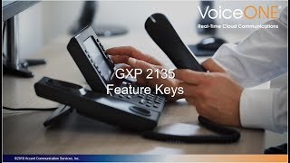 Grandstream GXP2135 Feature Keys Training