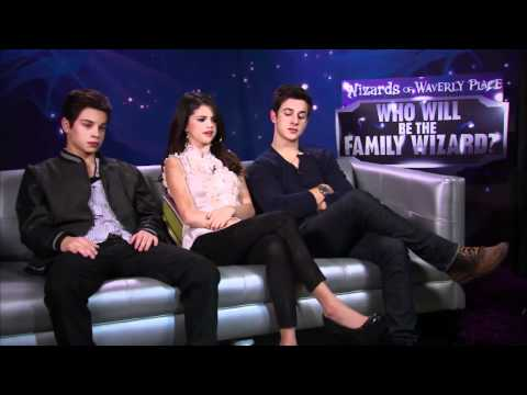 Wizards of Waverly Place Final   Selena Gomez, Jake T. Austin & David Henrie