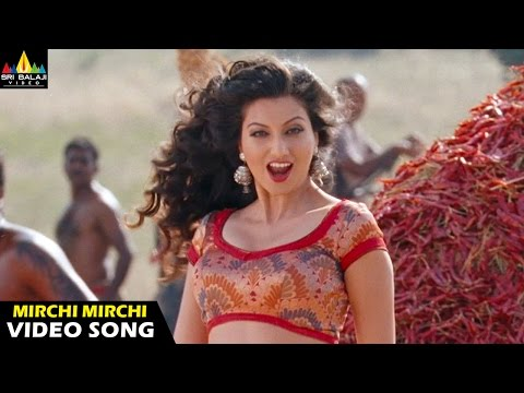 Mirchi Songs | Mirchi Mirchi Video Song | Latest Telugu Video Songs | Prabhas, Hamsa Nandini