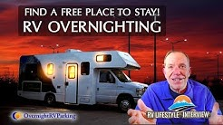 Park Your RV For Free Overnight? RV Overnighting Made Easy