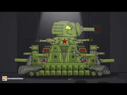 Download KV-44 VS KV-6: parásito - Dibujos animados sobre tanques