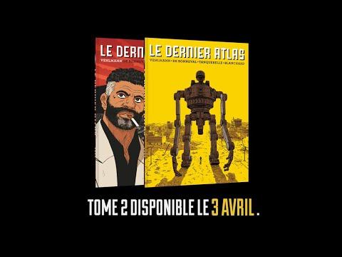 bande annonce de l'album Le dernier Atlas T.2