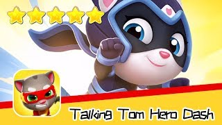 Talking Tom Hero Dash Day102 Walkthrough Endless runner Save the world Recommend index five stars