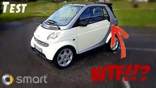 """""""Test"""" Le cabriolet le plus WTF !!! Qui à conçu ce truc ? """"Smart ForTwo cabriolet"""""""